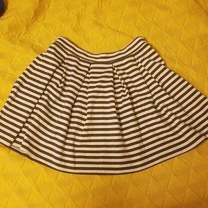 AE striped skirt
